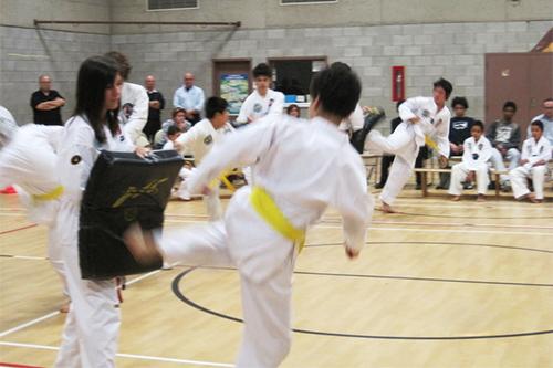 club taekwondo anjou